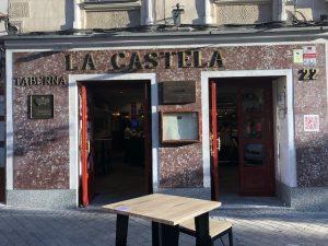 マドリードLa Castelaラ カステラ