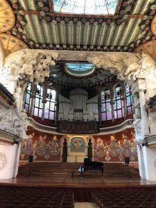 世界遺産カタルーニャ音楽堂
