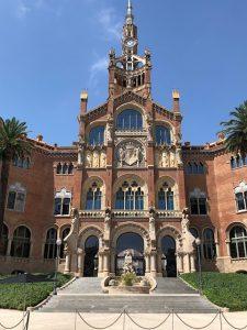 バルセロナ サン・パウ病院