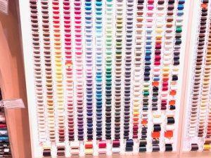 ロンドン中心部にある手芸用品店
