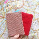 MERCHANT&MILLS生地の可愛いパスポートケース