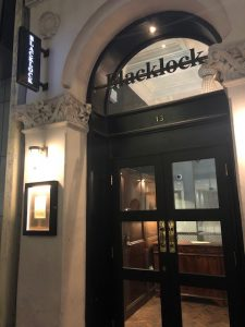 ロンドンのステーキハウス・ブラックロック